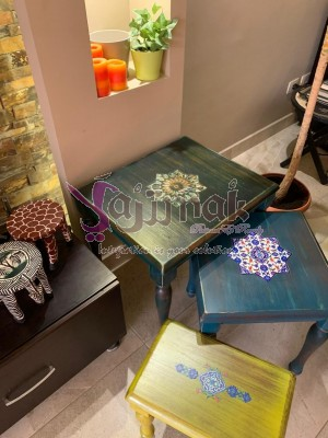 Renovated coffee tables